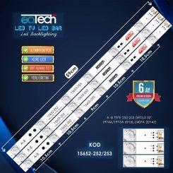 Lg 32lb582v, 32lb580n, 32lf580n Led Bar Takım