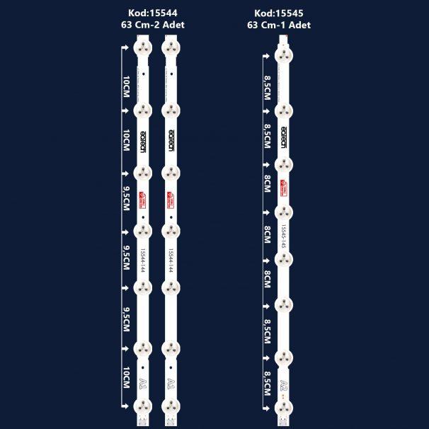 Axen Ax032Dld12At057-Ktm, Ax032Dld16At015-Ztm Led Bar