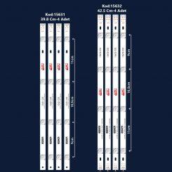 Lg 42LB580V 42LB582V  42LB620V Led Bar Takım