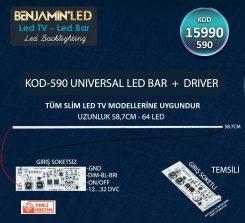 Universal Slim Edge Driverli Lcd Tvler İçin